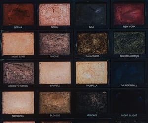 mac, makeup, and palette image