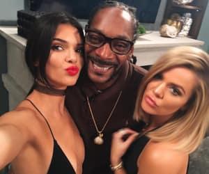khloe, Kendall, and snoop dog image