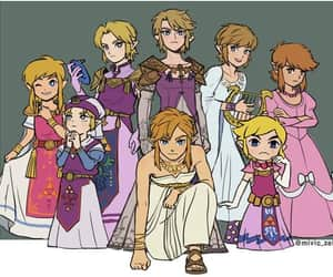 link, ocarina of time, and wind waker image