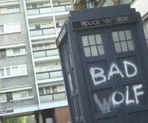 aesthetic, bad wolf, and doctor who image
