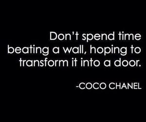 chanel, coco chanel, and quotes image