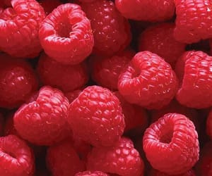 wallpaper, raspberry, and fruit image