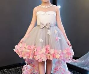dress, girl, and littlegirl image