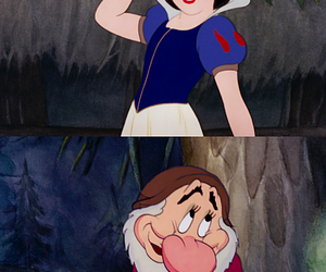 disney, grumpy, and princess image