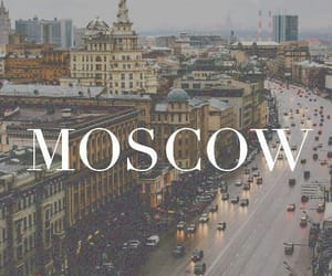 moscow, city, and travel image