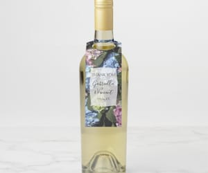 flowery, floral bridal shower, and beer bottle tags image