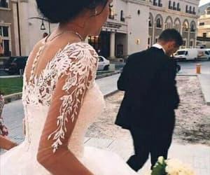 bride, man, and wedding image