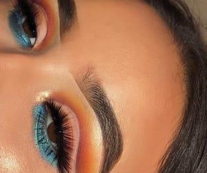 girl, inspiration, and makeup image