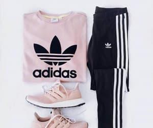 adidas, sport, and fashion image
