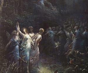 art, gustave dore, and painting image