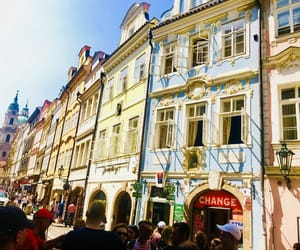 backpack, Houses, and prague image
