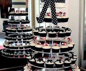 candy, creative, and cup cakes image