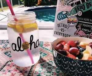 Aloha, summer, and fruit image