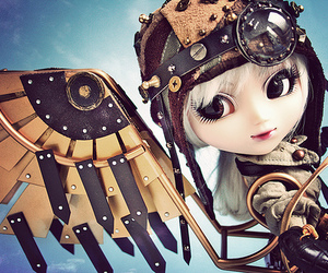 doll, pullip, and steam punk image
