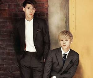handsome, throwback, and hunhan image