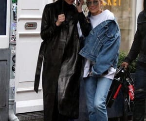 street style, kendall jenner, and hailey baldwin image