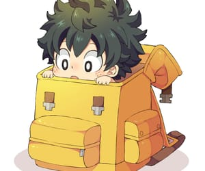 boku no hero academia, anime, and deku image