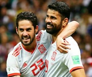espana, football, and goal image