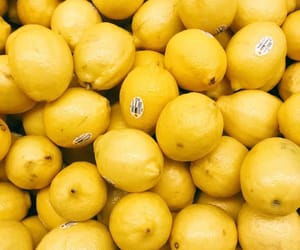 lemon, yellow, and FRUiTS image