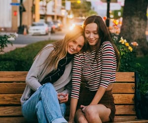 girls, friendship, and goals image