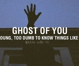 Lyrics, youngblood, and ghost of you image