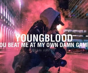 Lyrics, youngblood, and 5 seconds of summer image