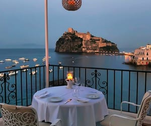 dinner, romantic, and travel image