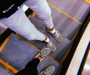aesthetic, instagram, and checkeredvans image