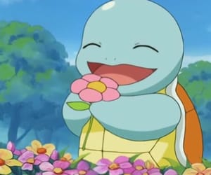 pokemon, squirtle, and anime image