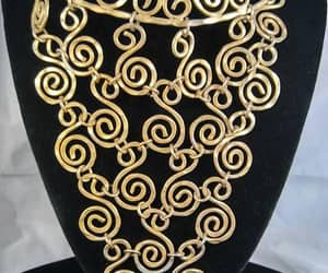 statement necklace, artisan jewelry, and statement choker image