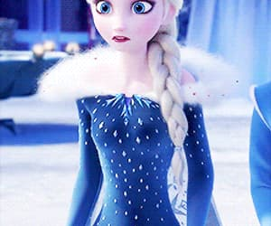 animation, movie, and frozen fever image