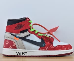 jordan off white, cheap nike air jordan 1, and off-white jordan image