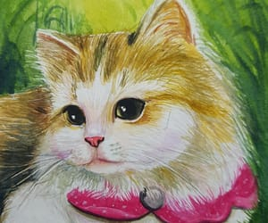 aceo, kitten, and original image