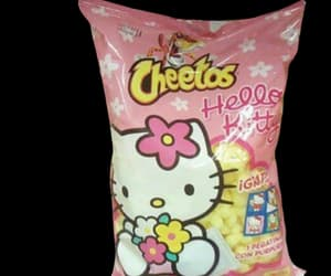 hello kitty and cheetos image