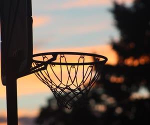 Basketball, photography, and skies image