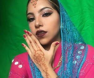 arabian, beauty, and eyebrows image