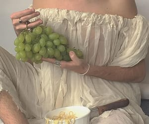 aesthetic and grapes image
