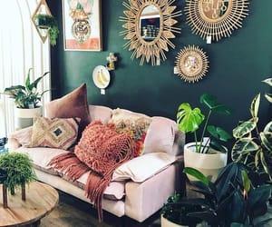 bohemian, room, and home image