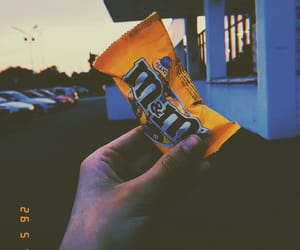candy, m&ms, and yellow image