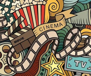 wallpaper, cinema, and cine image