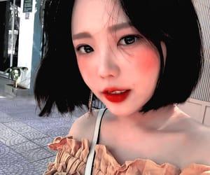 girl, ulzzang girl, and hong younggi image