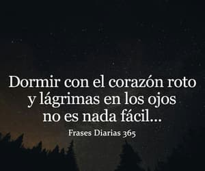 dormir, frases, and tristeza image