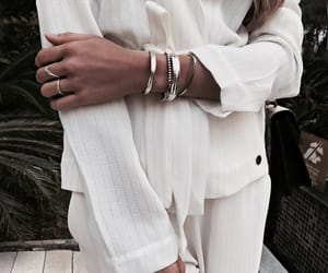 fashion, jewelry, and white image
