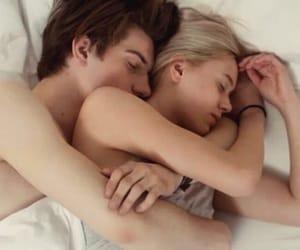 amor, hug, and sleep image