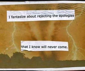 apology, quotes, and fantasize image