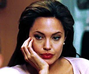 Angelina Jolie, brunette, and gif image