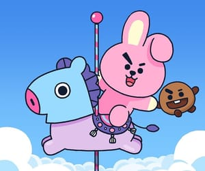 cooky, mang, and bt21 image