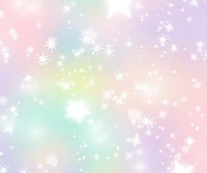pastel, rainbow, and sparkle image