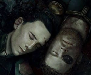 chris hemsworth, tom hiddleston, and thor odinson image