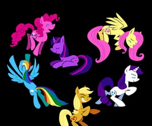 friendship, MLP, and ponies image